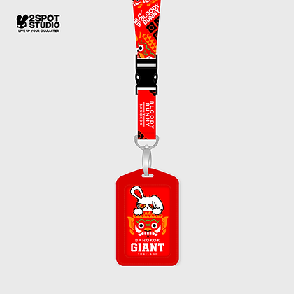Neck Strap - Bloody Bunny Giant (Red)