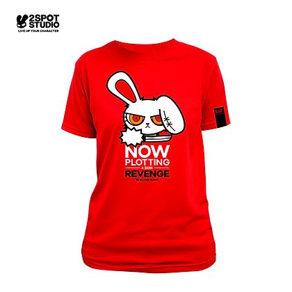 Bloody Bunny T-Shirt - Plotting revenge (RED)