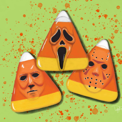"""Candy Corn Slashers"""