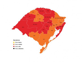 Governo indefere recursos e mapa definitivo da 39ª rodada permanece com 11 regiões em vermelho