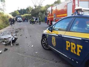 Acidente em Panambi envolvendo uma Carreta e uma S10 deixa um óbito