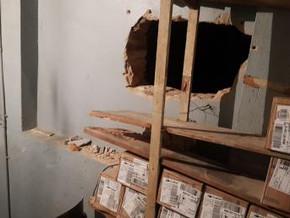 Assaltantes entram em lotérica de Porto Alegre por buraco na parede e arrombam cofres