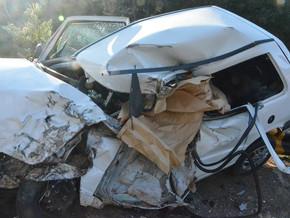 PRF atende acidente com 2 óbitos na BR 386