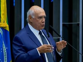 Lasier acusa governo de comprar votos para eleger presidente do Senado