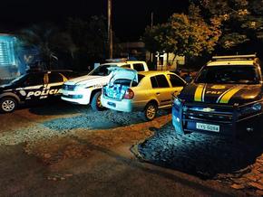 Ação conjunta resulta na prisão de três contrabandistas de cigarros