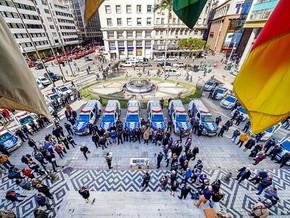 Guarda Municipal tem reforço de 19 viaturas e equipamentos