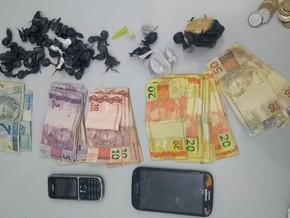 Brigada Militar prende casal por tráfico de drogas em Cristal do Sul