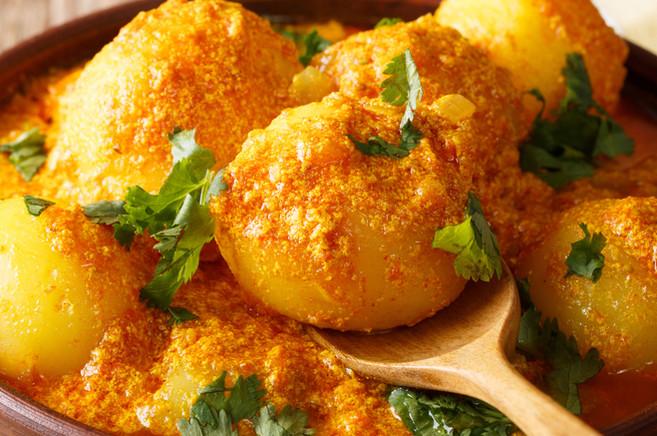 Paneer Stuffed Potatoes