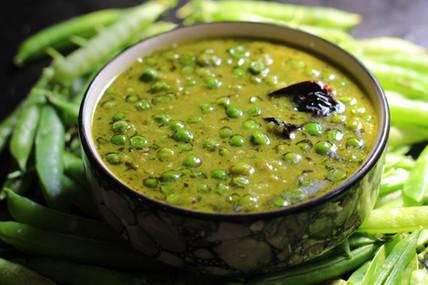 Fresh Green Peas Curry