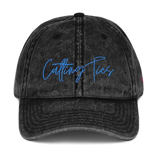 """""""Cutting Ties"""" Vintage Hat"""