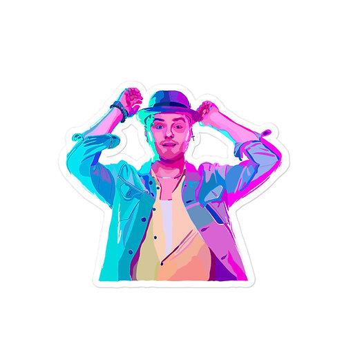 Neon Dan Kiernan Bubble-free Sticker