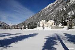 Lac hiver