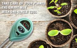 Soil meter banner