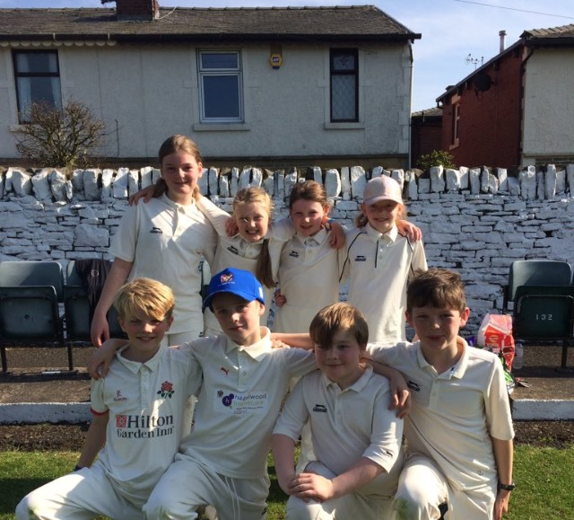 Y5 Cricket Team are going through to next weeks final!