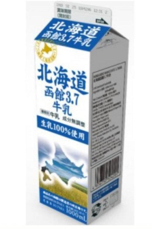 北海道函館3.7牛乳。HOKKAIDO FULL CREAM MILK
