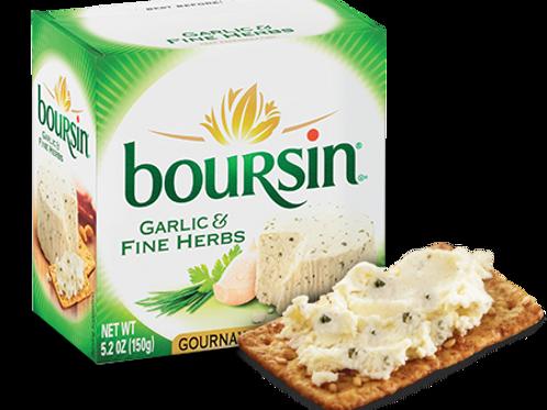 Boursin 芝士抹醬香草蒜蓉