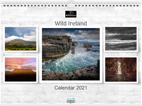 Calendar 2021 Wild Ireland