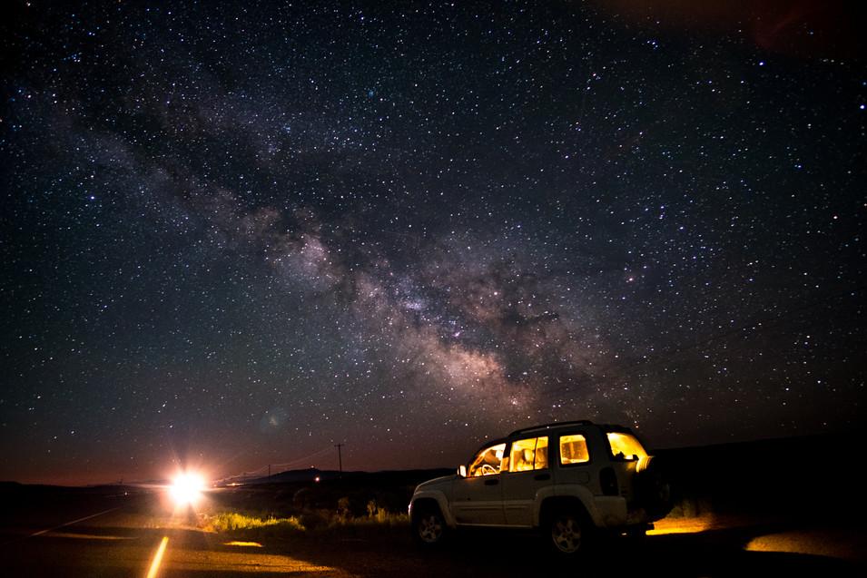 The Oregon Stars, Highway 20, USA.