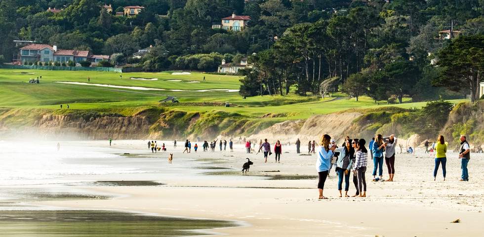 Carmel Beach, Monterey, California