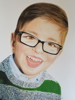 11x14 colored pencil portrait