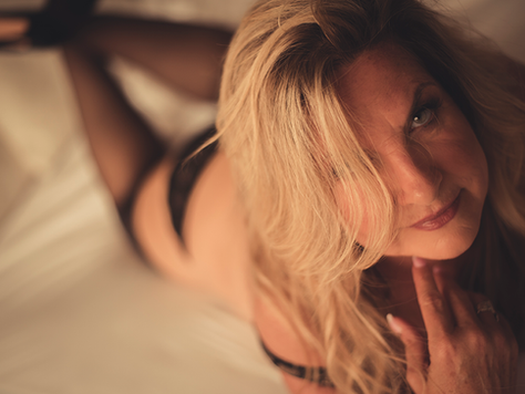 Boudoir is for every woman… Yes, even at 69!