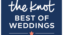 For Your Eyes Boudoir Inducted into The Knot Best of Weddings Hall of Fame!