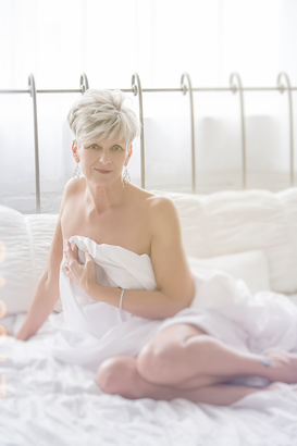A Boudoir Session at 57? Hell Yes!