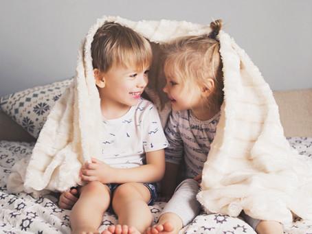How to help your children build a great indoor den!