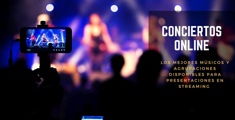 Conciertos Online