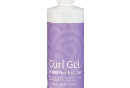 Clever Curl Curl Gel Humid Weather -Curly Girl Method 450ML