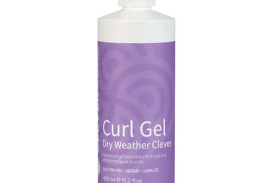 Clever Curl Curl Gel Dry Weather -Curly Girl Method 450ML