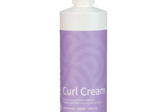 Clever Curl Curl Cream - Curly Girl Method 450ML
