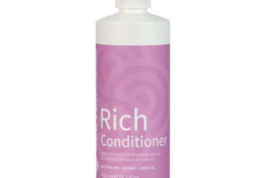 Clever Curl Rich Conditioner - Curly Girl Method 450ML