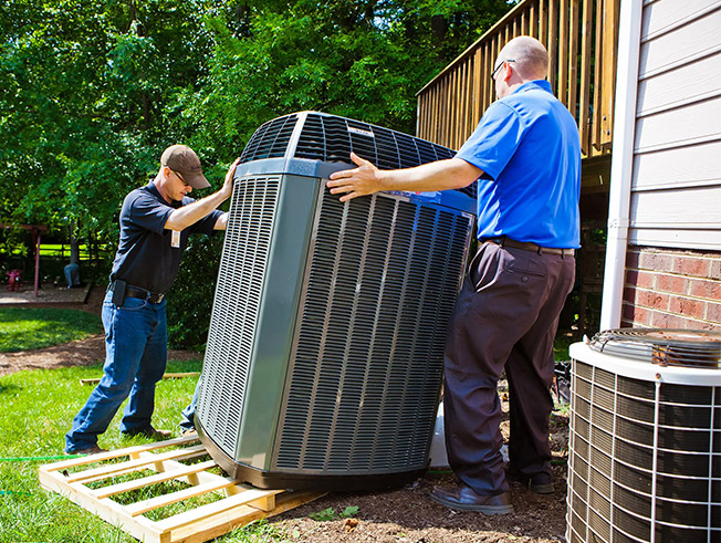 Installation of your HVAC units typically take one day.