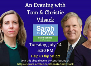 An Evening with Tom & Christie Vilsack