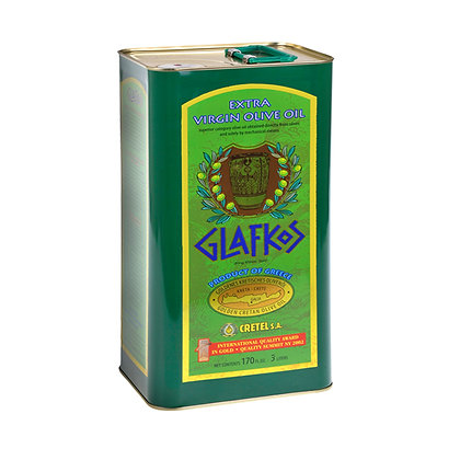 Оливковое масло EV Glafkos 3л/ж.б.