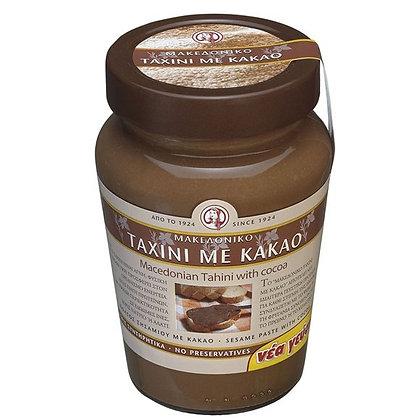Тахини - кунжутная паста с какао Haitoglou,350гр