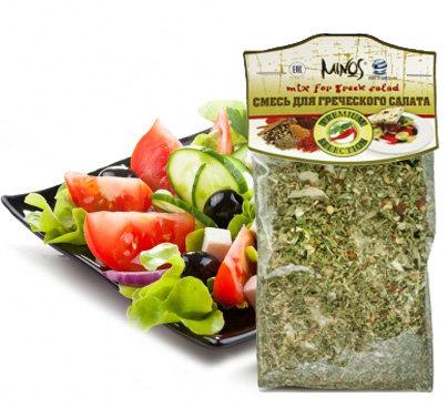 """Смесь для греческого салата """"MINOS"""", 40гр"""