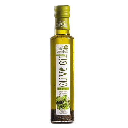 Оливковое масло EV с орегано Cretan Mill 250мл
