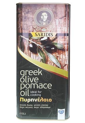 Оливковое масло Pomace Saridis 5л/ж.б.