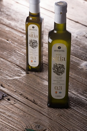 Оливковое масло EV Sitia Wite 0.5л/ст