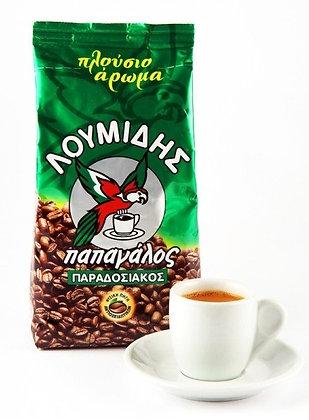 Греческий кофе Лумидис Папагалос 96гр