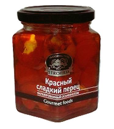 """Красный сладкий перец с мидиями """"Strofilia"""", 270гр"""