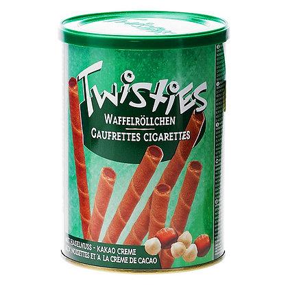 Вафельные трубочки Twisties фундук и какао 400гр