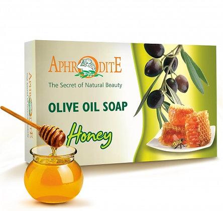 """Мыло оливковое с медом """"Aphrodite"""", 100гр"""