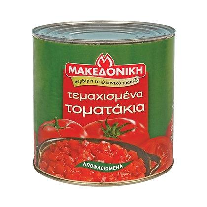 Томаты кусочками в собственном соку Makedoniki 2,5