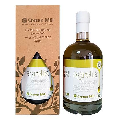 Оливковое масло EV Agrelia 0.5/ст (в коробке)