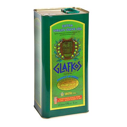 Оливковое масло EV Glafkos 5л/ж.б.
