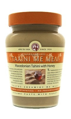 Тахини - кунжутная паста с медом Haitoglou, 350гр