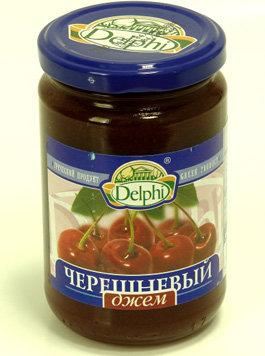Джем абрикосовый «Delphi»  380гр стекло.